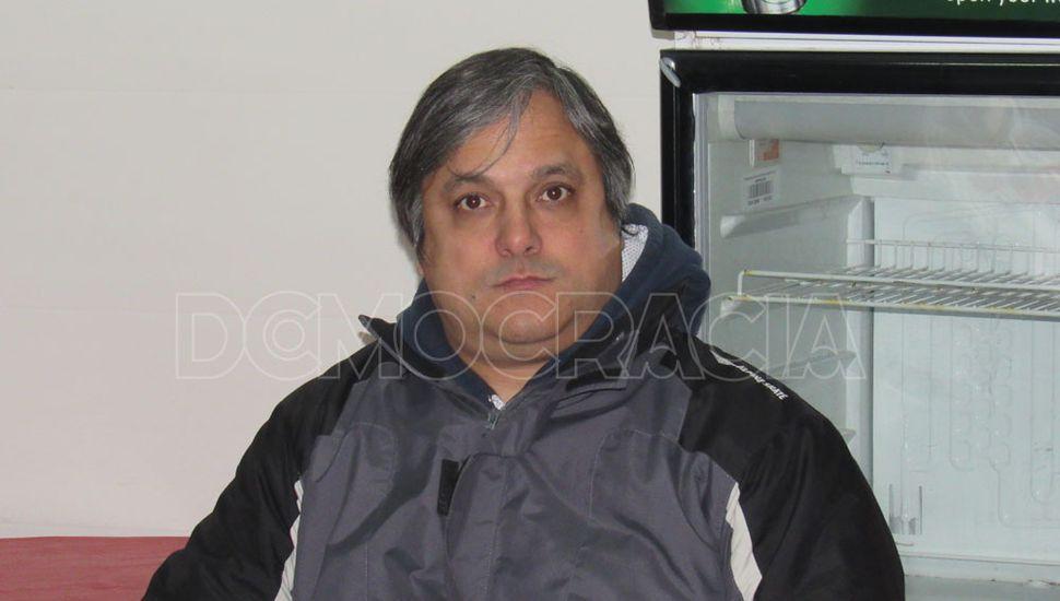 Roger Arrieta, en la última reunión Verdirroja.