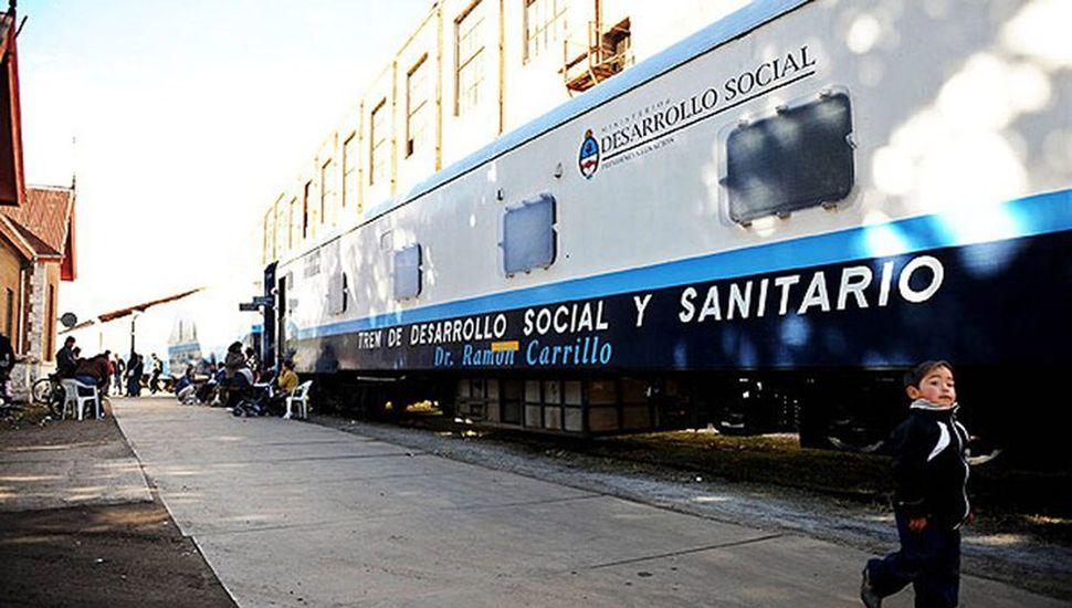 Hay trenes sanitarios que podrían adaptarse para la atención de pacientes, según el sindicalista Sergio Sasia.
