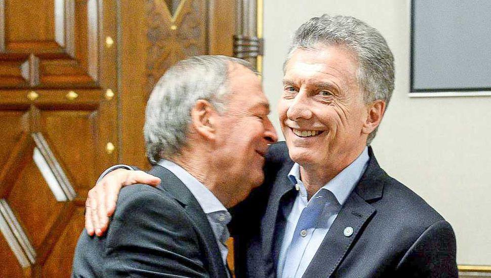 Macri y Schiaretti  reflotaron el acuerdo de gobernabilidad