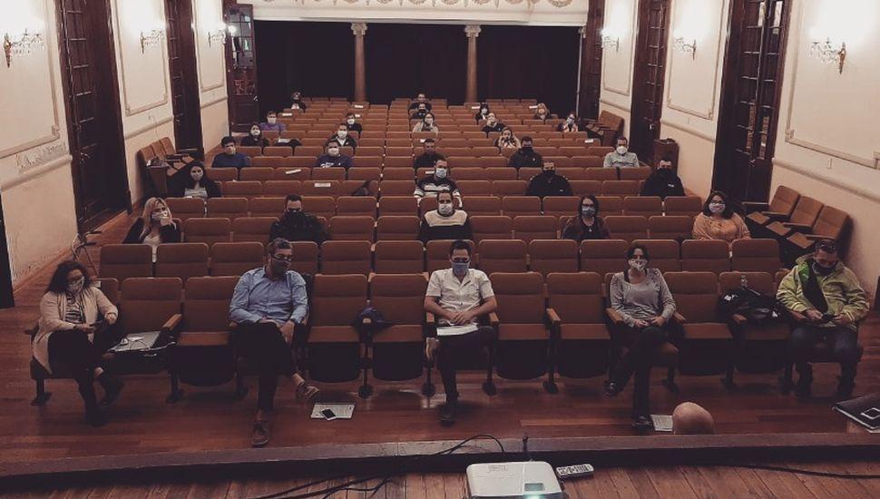 Se realizó la reunión de gabinete ampliado en Arenales