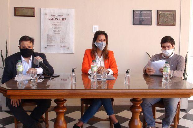 El bloque del Frente de Todos presentó una batería de medidas para reactivar la economía y el empleo en Junín.