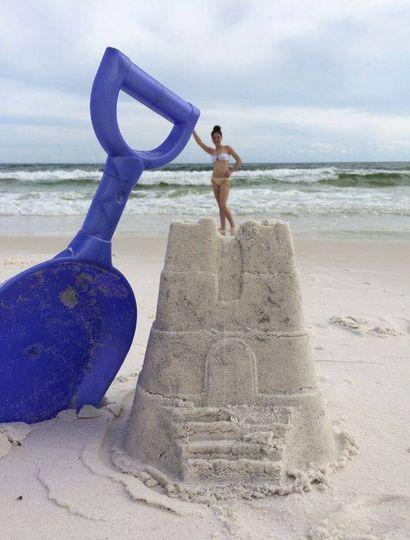 Fotos en la playa: un clásico de verano que estas personas hicieron diferente