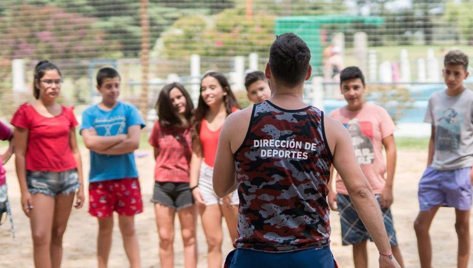 Más de 130 chicos participaron de la colonia ATR con amigos