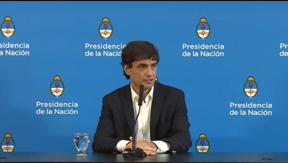 """Lacunza: """"Los ahorros de los argentinos están absolutamente disponibles y eso es intocable"""""""