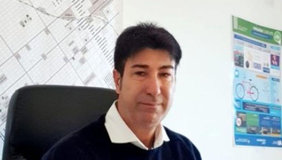 Marcelo Loyola, secretario de Seguridad de Chacabuco.