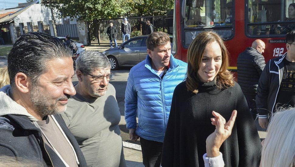 María Eugenia Vidal busca el diálogo como mecanismo para limar rispideces y lograr acuerdos con sectores de la oposición.