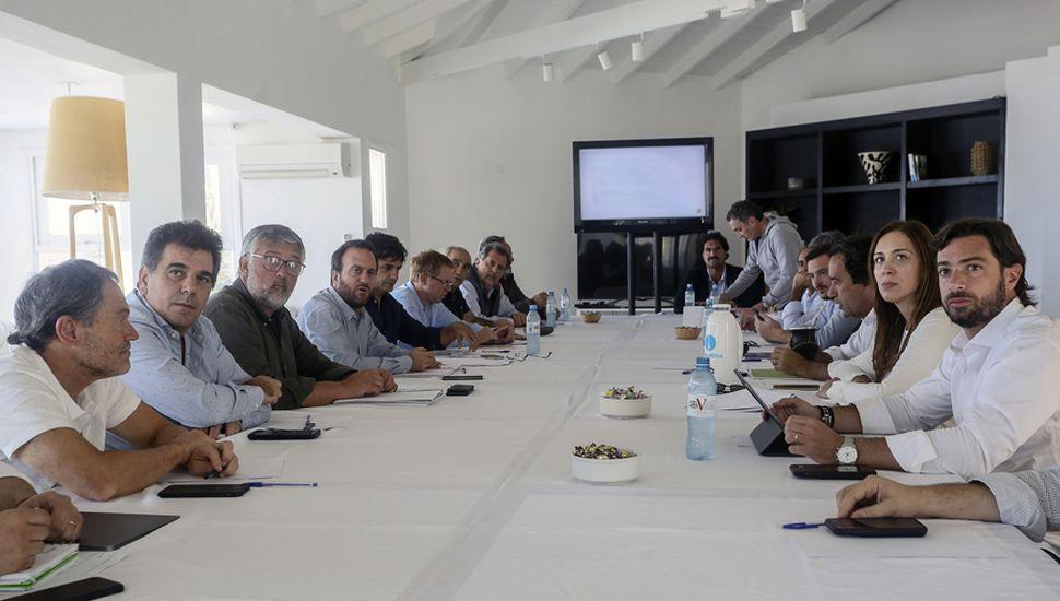 María Eugenia Vidal reunió a su tropa en Chapadmalal para trazar la estrategia de campaña, de cara a las elecciones de octubre.
