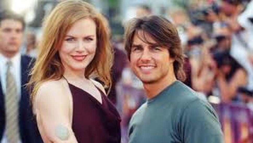 Nicole Kridman y Tom Cruise