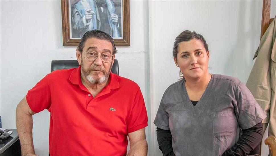Julio Ferrero y Agustina Cacheiro.