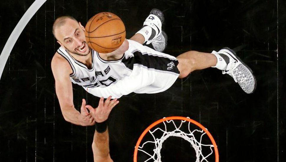 Ginóbili inicia una nueva temporada de la NBA con los Spurs