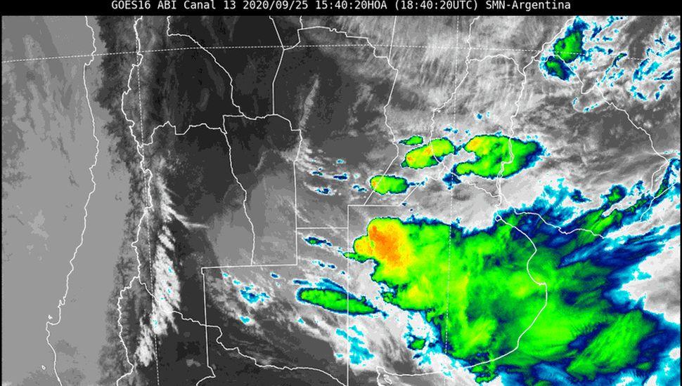 Alerta meteorológico por tormentas y caída de granizo en Junín y la Región