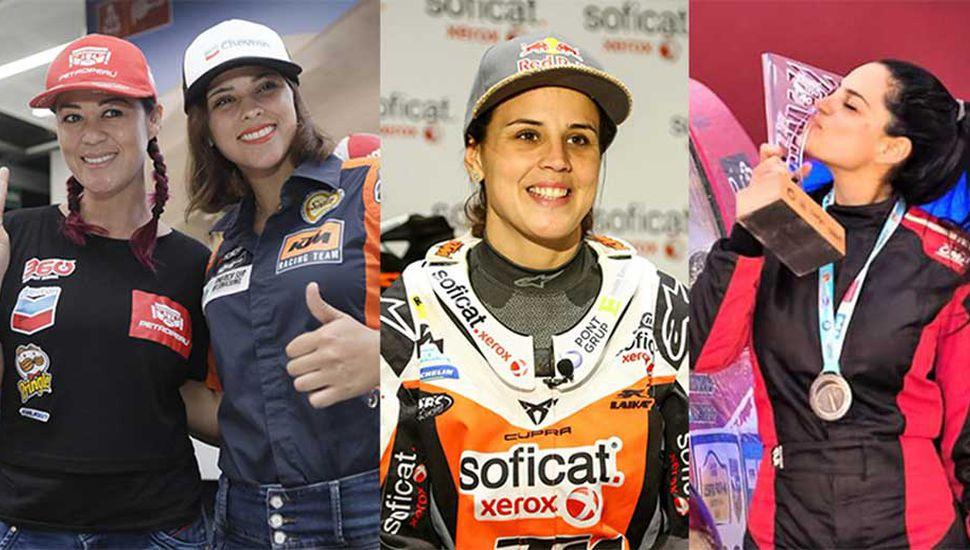 Algunas de las bellas damas que animaran la edición 2019 del Rally Dakar.