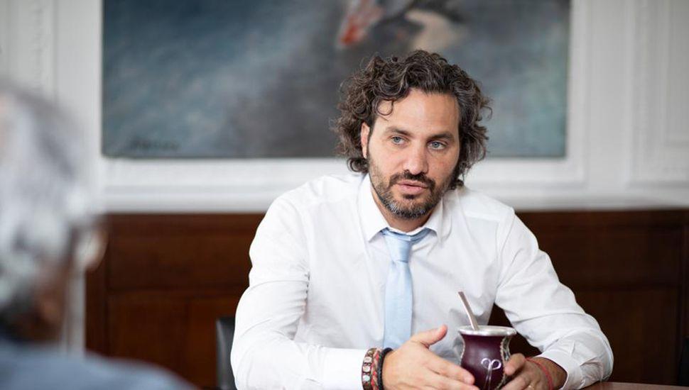 Santiago Cafiero, jefe de gabinete nacional.