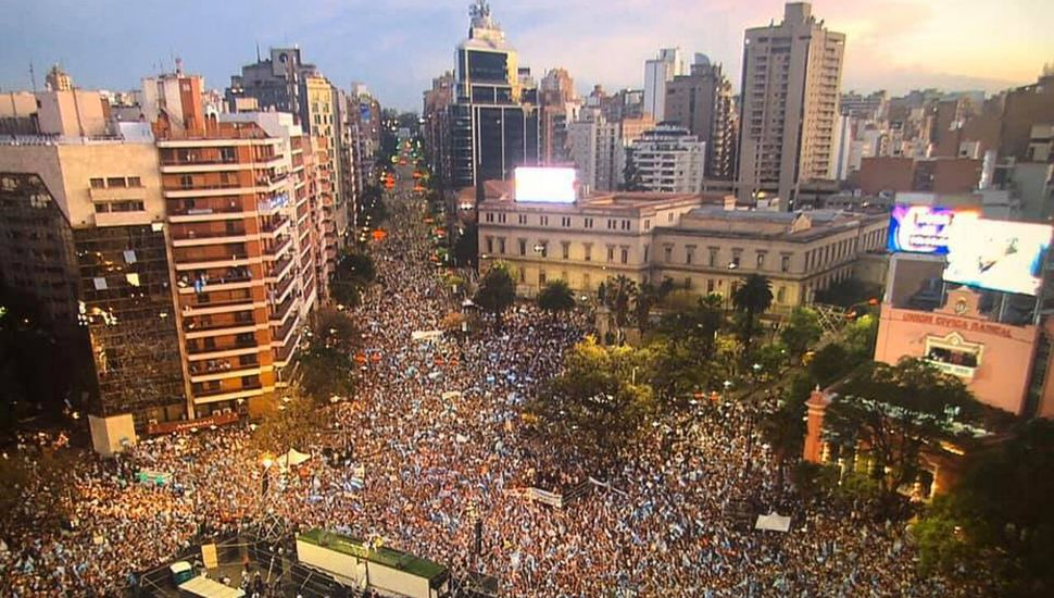 """Macri: """"Que el domingo sea la elección con más asistencia, si es con Dios todo se puede"""""""
