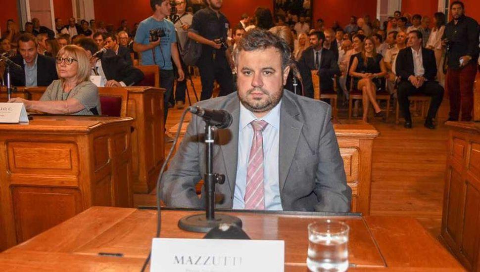 Lautaro Mazzutti, concejal peronista.