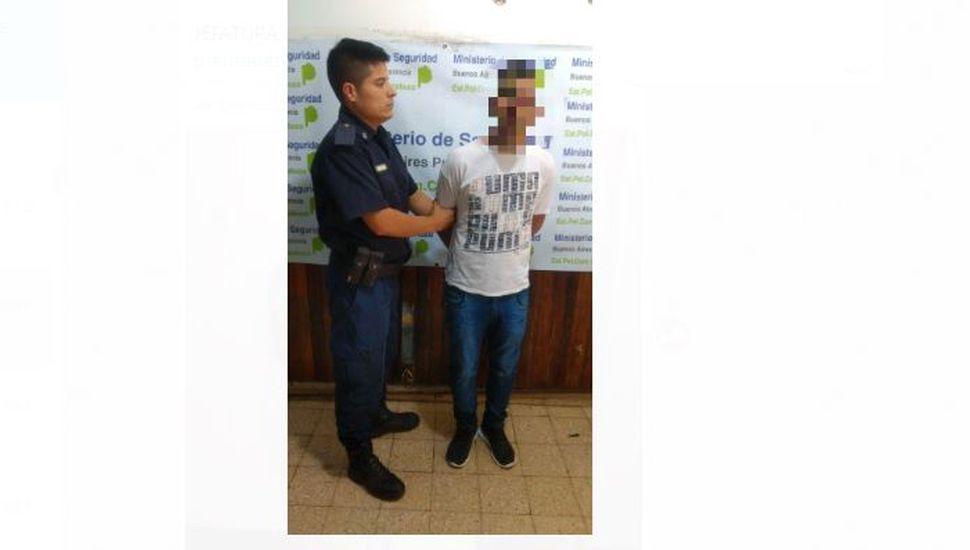 Pinto: aprehendieron a un hombre que tenía pedido de captura