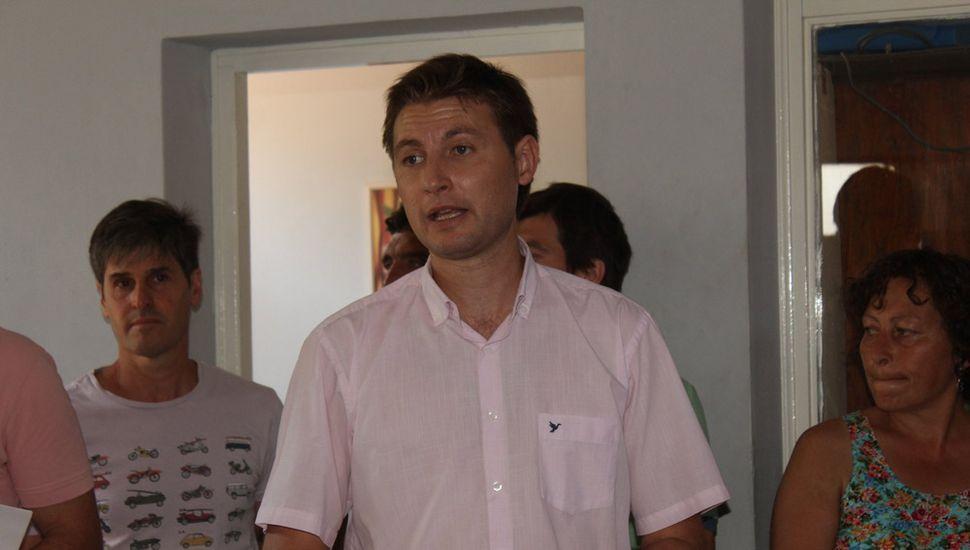 Intendente Carlos Ferraris.