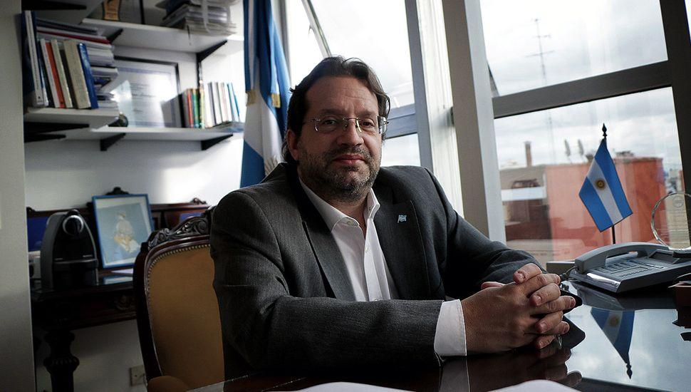 "Marco Lavagna reiteró que ""no se va a poder cumplir con los compromisos""."