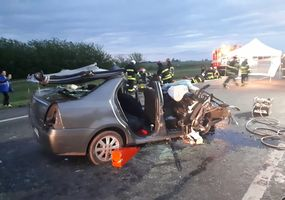 Dos personas fallecidas en un choque fatal sobre la Ruta 7, en Chacabuco