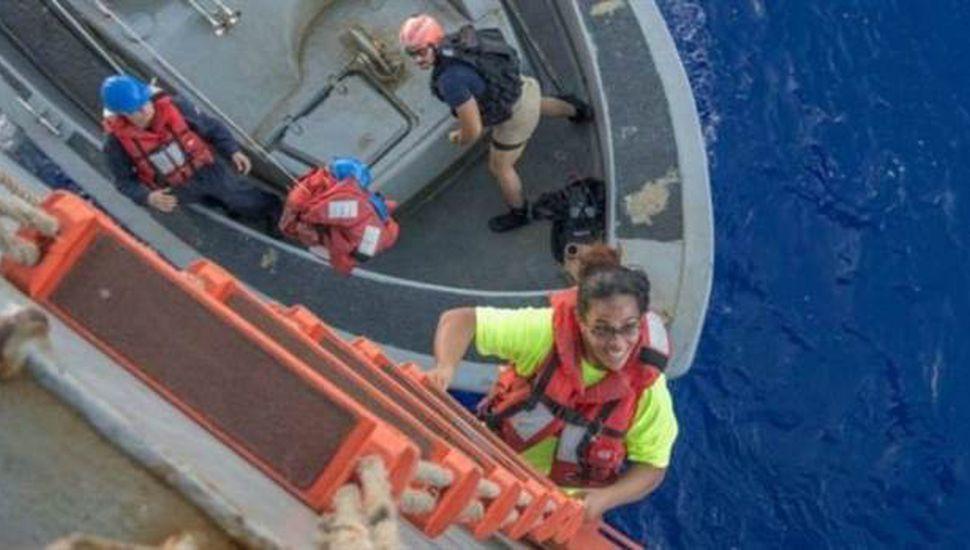 Rescatadas tras  meses de estar a la  deriva en el Pacífico