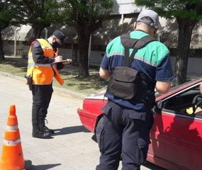 Controles vehiculares Chacabuco