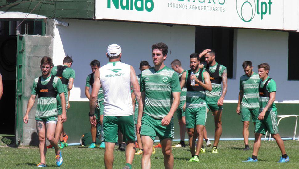 El Verde se entrenó ayer en Ciudad Deportiva.