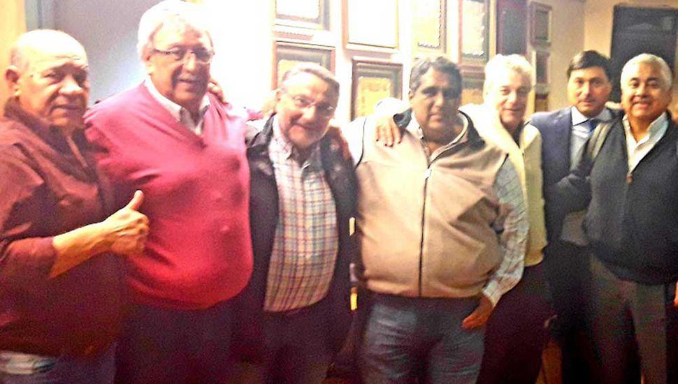 Sergio Adaro, con la conducción del Partido Fe y 62 Organizaciones Peronistas.