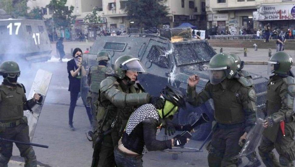 """Denuncian en Chile las """"más graves"""" violaciones de derechos humanos desde Pinochet"""