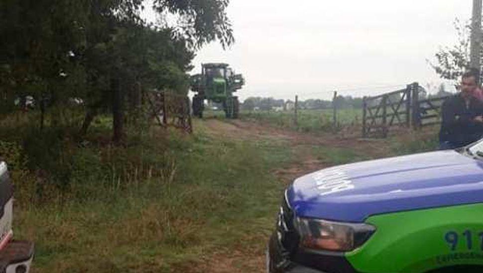 Vecinos detuvieron un trabajo de fumigación cerca de la zona urbana
