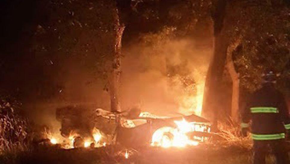 Lanfranco no sobrevivió al fuego.