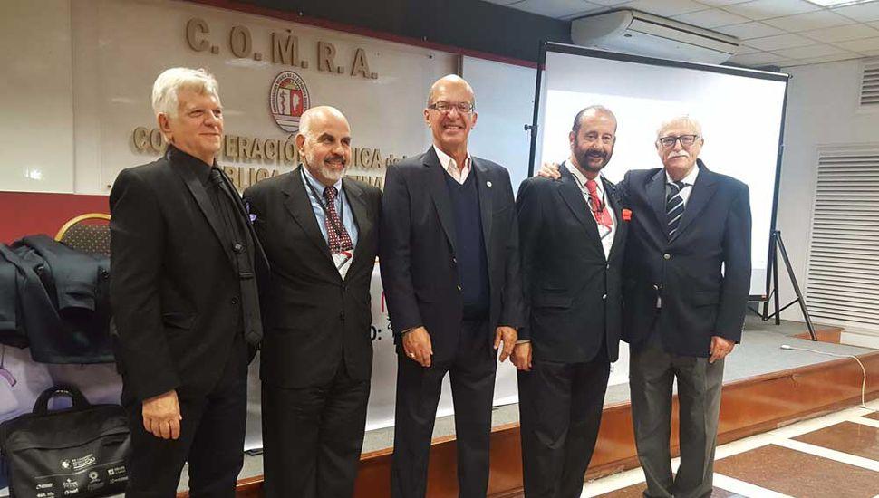 El doctor Jorge Lusardi participó este jueves del Segundo Congreso Nacional de Salud COMRA.