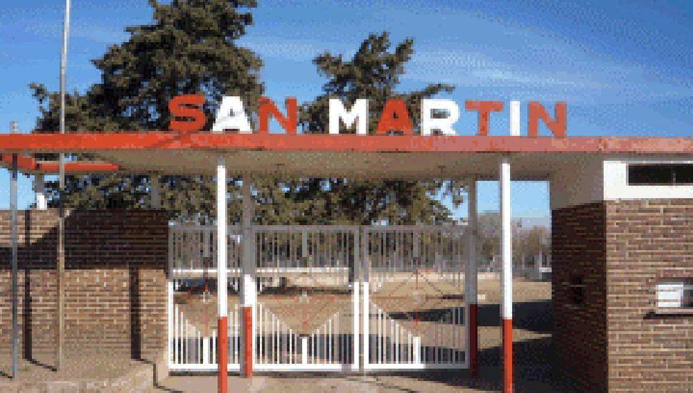 Club San Martín de Roberts.