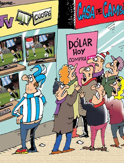 """El 63% consideró que Argentina """"no"""" llega a la final del Mundial"""