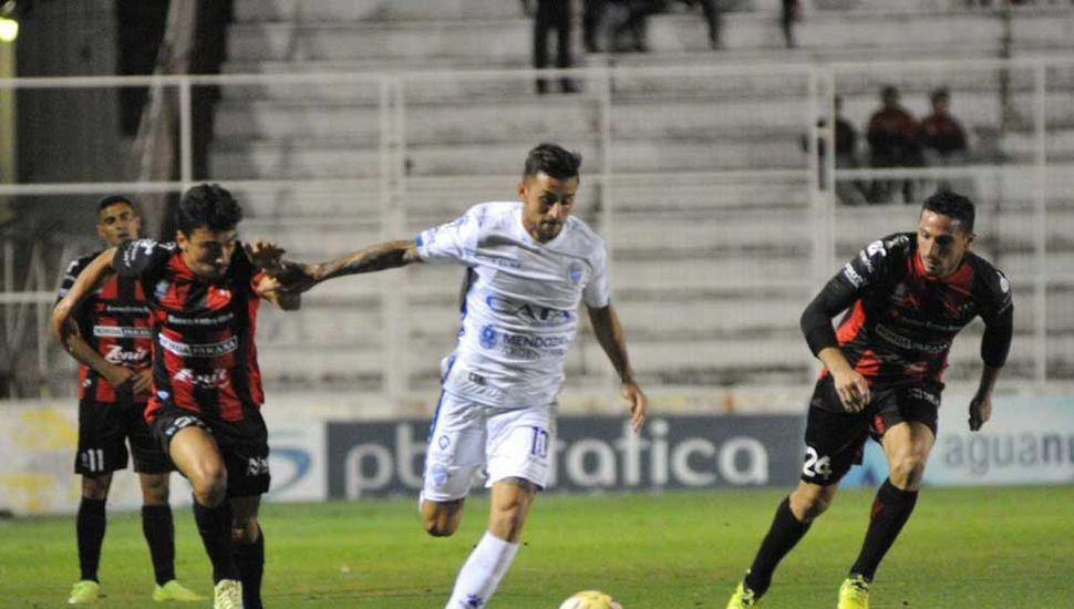 Godoy Cruz empató con  Patronato en Paraná