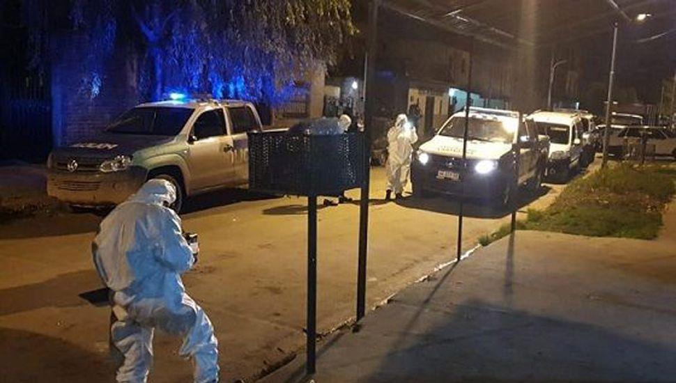 Mataron de un tiro en la cara a un kiosquero delante de un niño