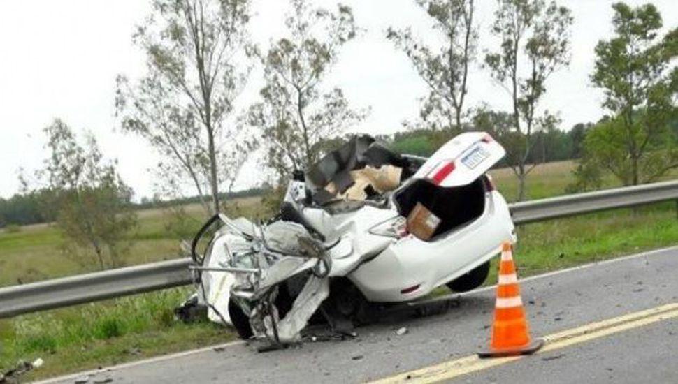 Falleció un sindicalista de Luz y Fuerza en un accidente sobre Ruta 5