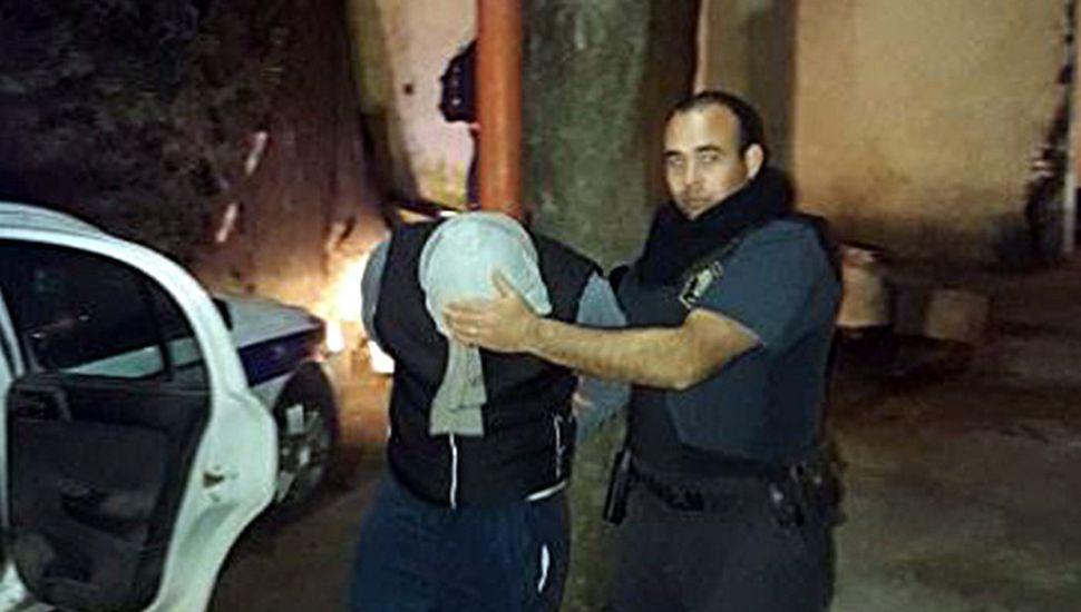 Allanamientos y 9 detenidos en Rojas