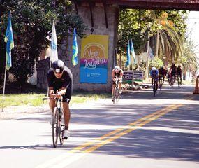 """Las imágenes que dejó el  triatlón """"Ciudad de Junín"""""""