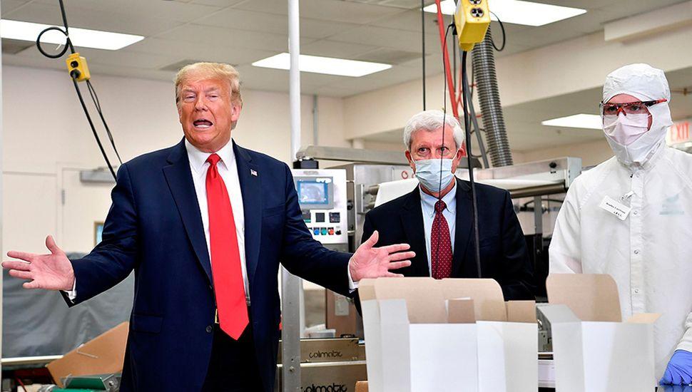 Donald Trump, en plena campaña electoral, teme contagiarse de coronavirus.