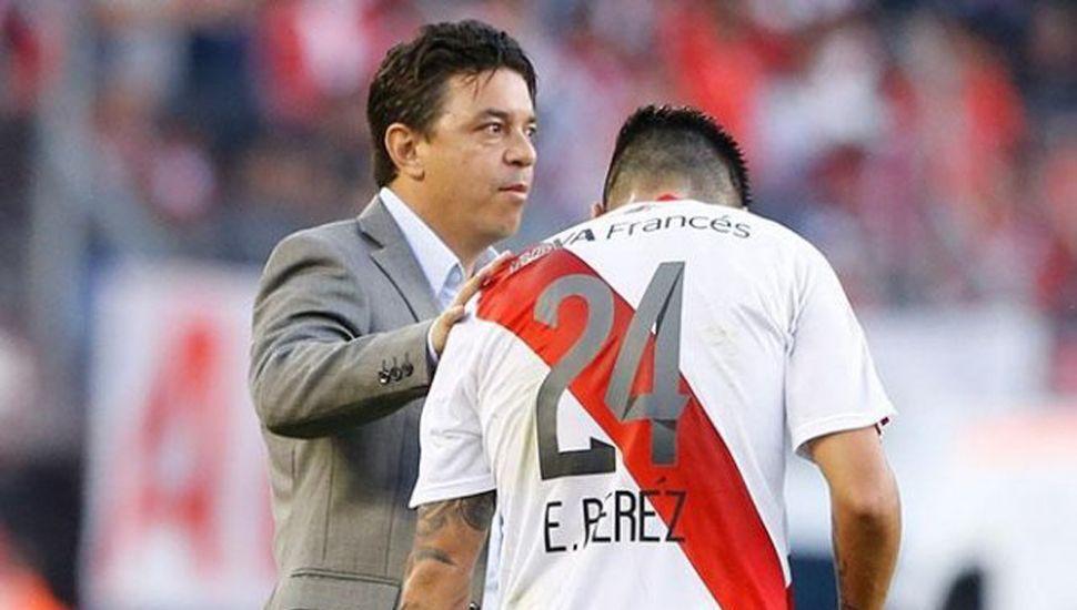 Marcelo Gallardo y Enzo Pérez.