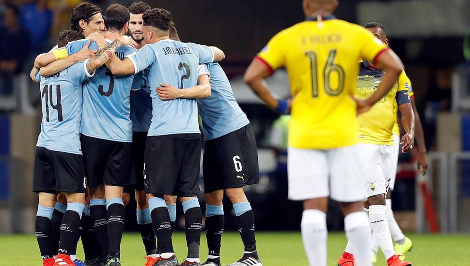 Uruguay festejó un gran triunfo.