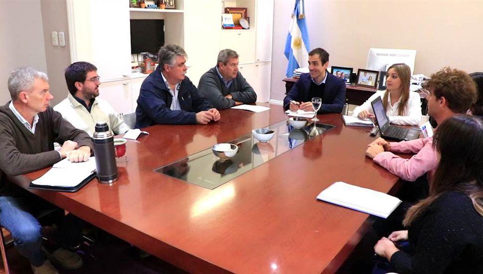 Las reuniones con el Ejecutivo se realizan mensualmente.