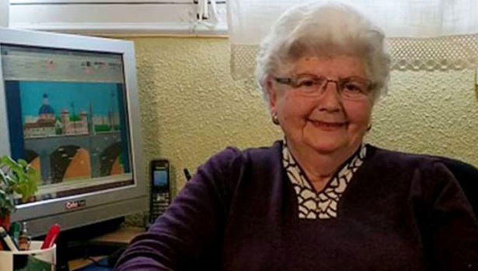 Una abuela de 87 años se volvió la reina del Paint