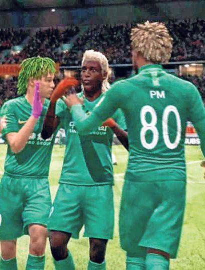 Imagen de la final donde Sarmiento superó a Villa Lugano.