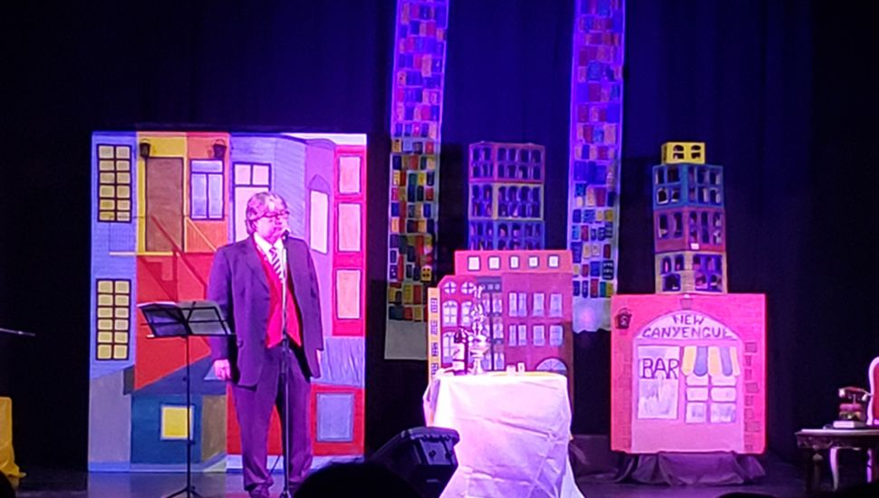 New Canyengue Tango deleitó en el teatro de La Ranchería