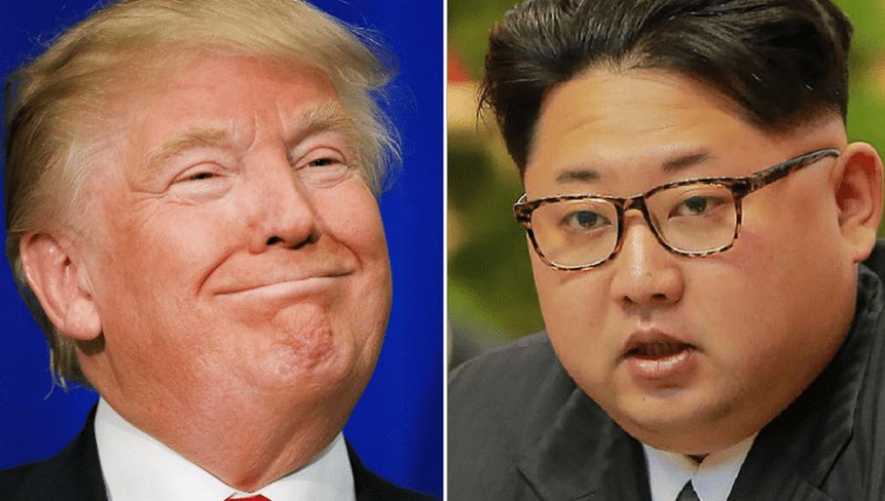 """Donald Trump y Kim Jong-un en una dura  """"guerra de insultos"""""""
