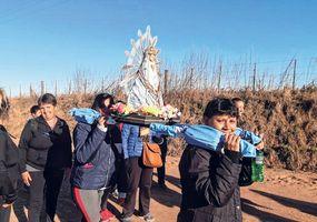 Peregrinos de Rojas ultiman detalles  para emprender la caminata a Luján