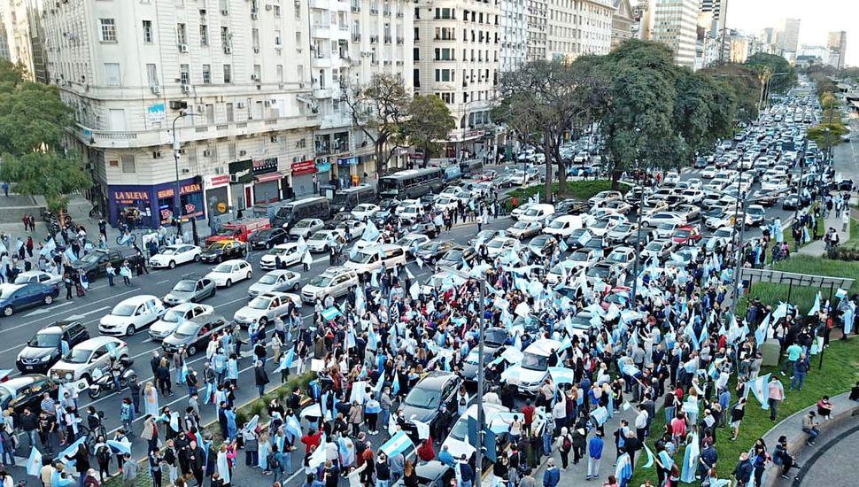 Nueva protesta opositora
