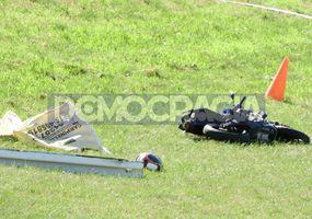 Un motociclista perdió la vida en un accidente sobre avenida Circunvalación