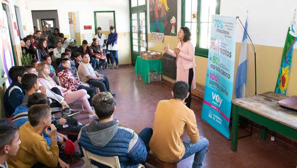 """El municipio continúa realizando el programa """"Voy seguro""""."""
